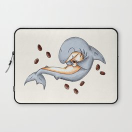 Coffee Shark Laptop Sleeve
