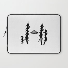 UFO in spruces Laptop Sleeve