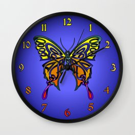 Butterfly-knot Wall Clock