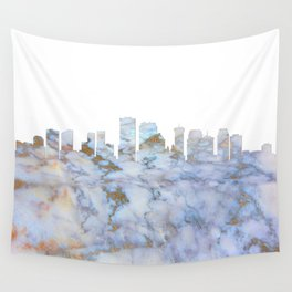 New Orleans Skyline Louisiana Wall Tapestry