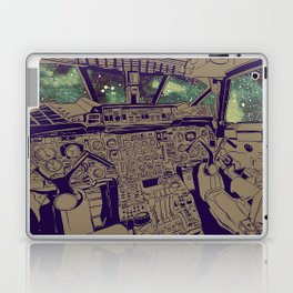 SpaceJet (Color) Laptop & iPad Skin