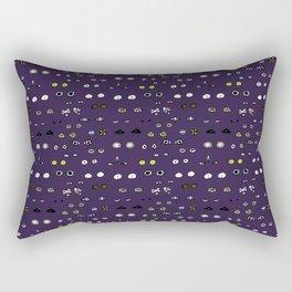 Eyes in the night Rectangular Pillow