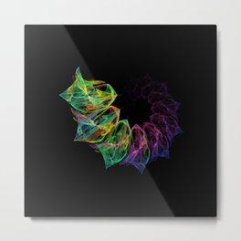 Fractal petals Metal Print