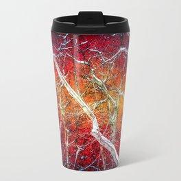 Red winter night Travel Mug