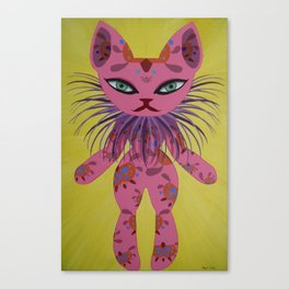 Calico Cat Canvas Print