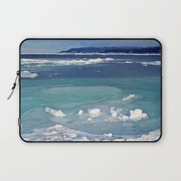 Snow and Ice pool Laptop Sleeve