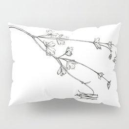 Eastern Red Columbine Pillow Sham