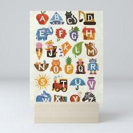 Alphabet Mini Art Print