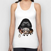 "powerpuff girls Tank Tops featuring Powerpuff Awakens by Damian ""Nox"" Lesicki"