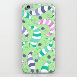 Crazy Twisters Pattern Print iPhone Skin