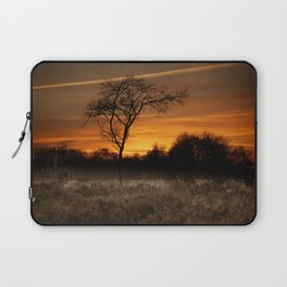 A Herd Of Red Deer At Sunset Laptop Sleeve