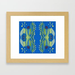 Transitions - Waves of Temporary Tranquility Framed Art Print