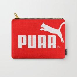 Purr - Puma logo parody Carry-All Pouch