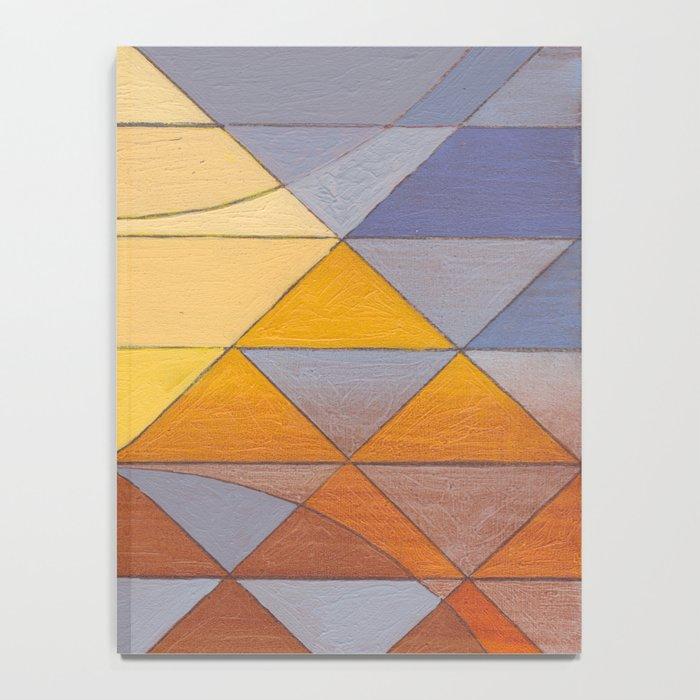 Pyramid Sun Mauve Purple Notebook