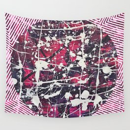 Hopkin's Bedtime - Pink Wall Tapestry