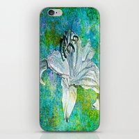 lily iPhone & iPod Skins featuring Lily by Saundra Myles