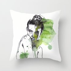 small piece 30 Throw Pillow