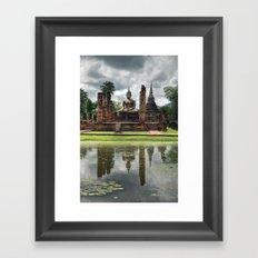 Buddha - Sukhothai - Thailand Framed Art Print