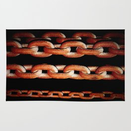 Rusting Chain Rug