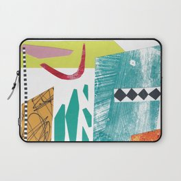 Moving Parts Collage Laptop Sleeve