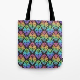 Painted Damask Tote Bag