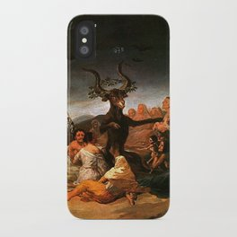 The Sabbath of witches - Goya iPhone Case