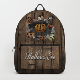 Halloween Pumpkins, a Cornucopia of Jack o' lanterns. spoopy Backpack