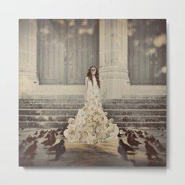 Bridal Portrait Metal Print