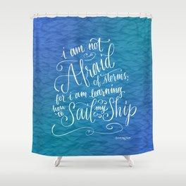 Sail My Ship Shower Curtain