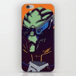 Mass Effect - Garrus- Arch Angel iPhone Skin