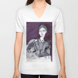 Emily Dickinson Unisex V-Neck