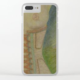 A Lingering Glance Clear iPhone Case