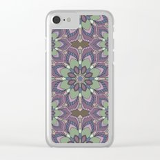Mandala 41 Clear iPhone Case