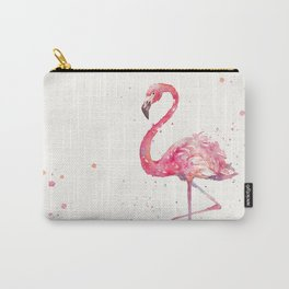 A Flamingos Fancy Carry-All Pouch