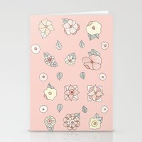 leah flores Stationery Cards featuring Flores by Tuky Waingan
