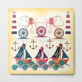 Sailor Metal Print