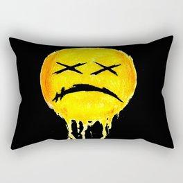 dEAdFacE! (Spray) Rectangular Pillow
