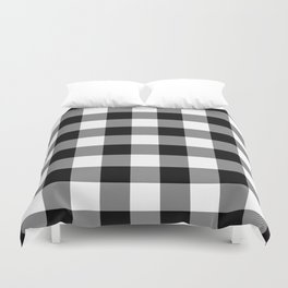 Gingham (Black/White) Duvet Cover