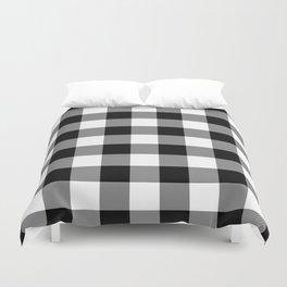 Gingham (Black/White) Duvet Cover