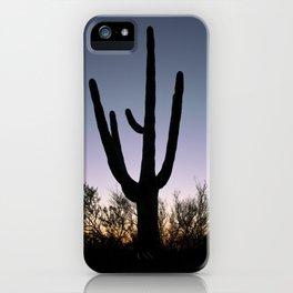 Sunset Cacti iPhone Case