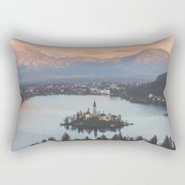 Lake Bled, Slovenia Rectangular Pillow