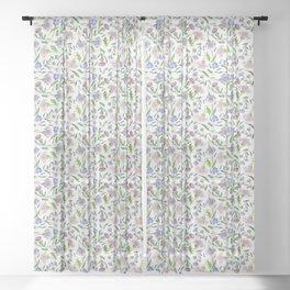 WINTER GARDEN Sheer Curtain