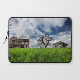 Old House In Field Laptop Sleeve