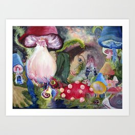 Dreams of Wonderland Art Print