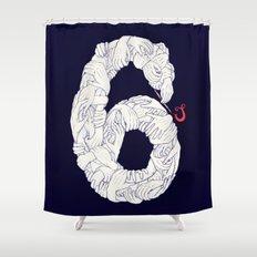 S6 Tee - Many Shower Curtain