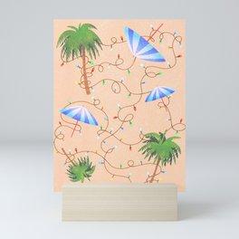 Palm Tree Holiday Mini Art Print