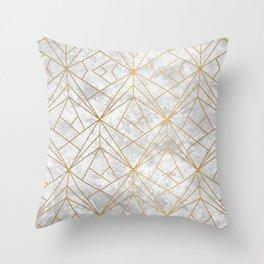 Retro over Stone II Throw Pillow