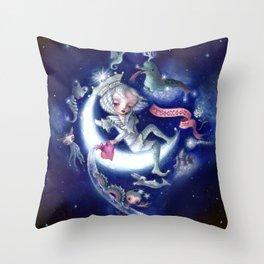 The Aquarius ~Stary sky ver.~ Throw Pillow
