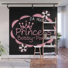 Princess Bossy Pants Wall Mural