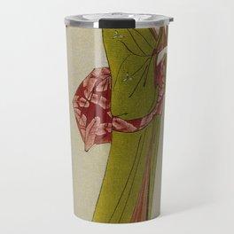 Itsutomi - Vintage Japanese Woodblock Travel Mug